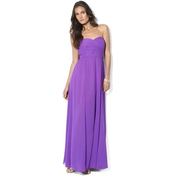 Ralph Lauren Dresses | Strapless Evening Gown | Poshmark